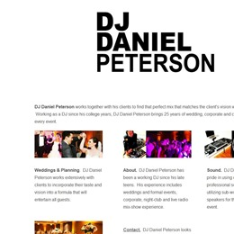 DJ Daniel Peterson photo