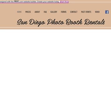 San Diego Photo Booth Rentals wedding vendor preview