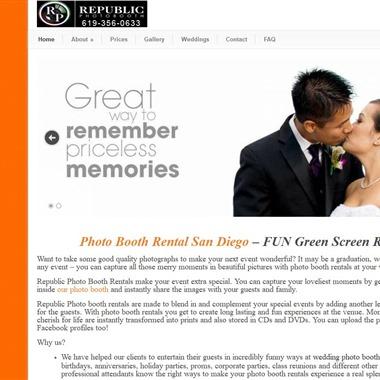 Republic Photobooth wedding vendor preview