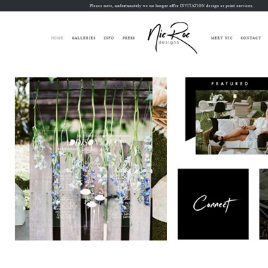 Nic Roc Design wedding vendor preview