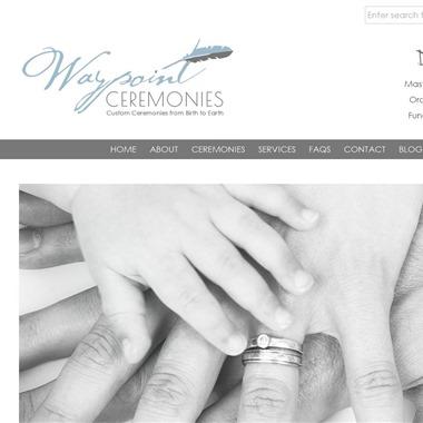 Waypoint Ceremonies wedding vendor preview