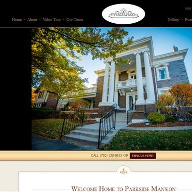 Parkside Mansion wedding vendor preview