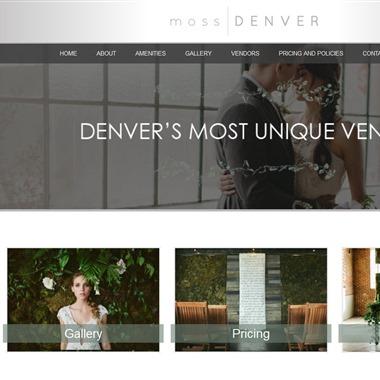 Moss Denver wedding vendor preview