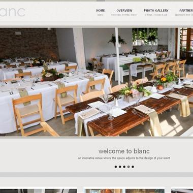 Blanc wedding vendor preview