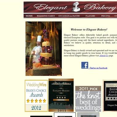 Elegant Bakery wedding vendor preview