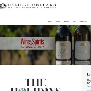 DeLille Cellars Chateau wedding vendor preview