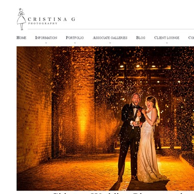 Cristina G Photography wedding vendor preview