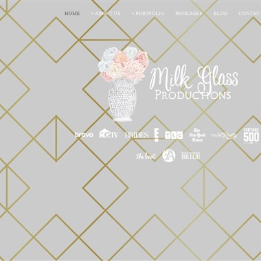 Milk Glass Productions wedding vendor preview