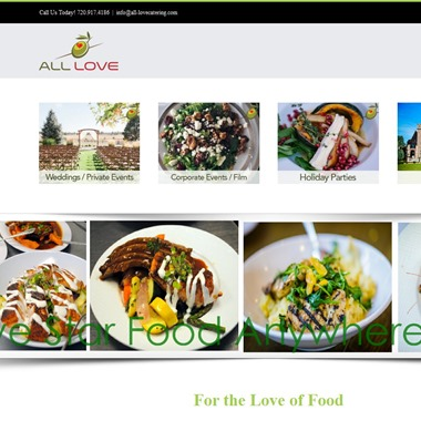 All Love Catering wedding vendor preview