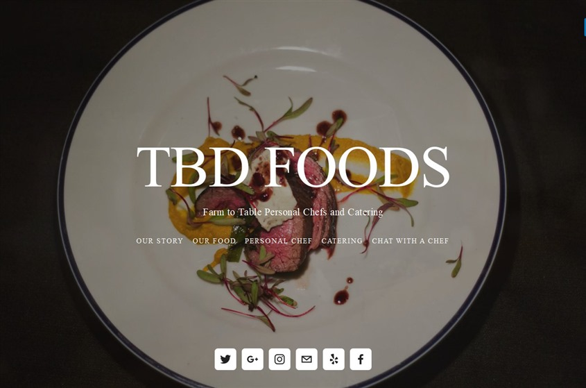 TBD Foods wedding vendor photo