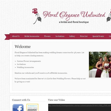 Floral Elegance Unlimited wedding vendor preview