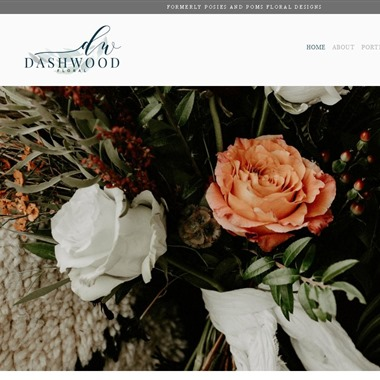 Dashwood Floral wedding vendor preview