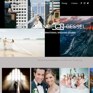 Clane Gessel Wedding Photography Seattle wedding vendor preview