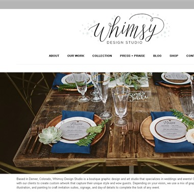 Whimsy Design Studio wedding vendor preview