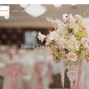 Simple Love Events wedding vendor preview
