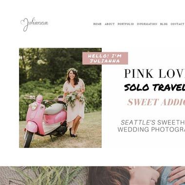 Julianna J Photography wedding vendor preview