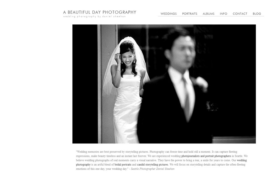 A Beautiful Day Photography wedding vendor photo