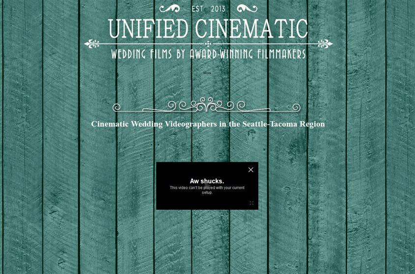 Unified Cinematic Wedding Video  wedding vendor photo
