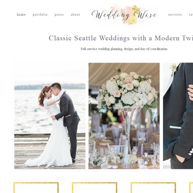 Wedding Wise Seattle wedding vendor preview