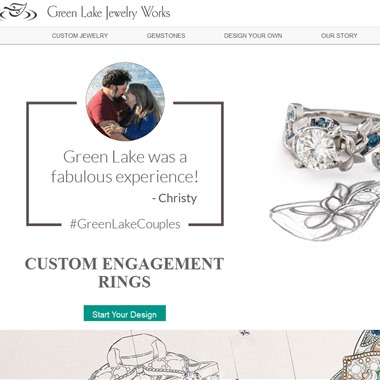 Green Lake Jewerly  wedding vendor preview