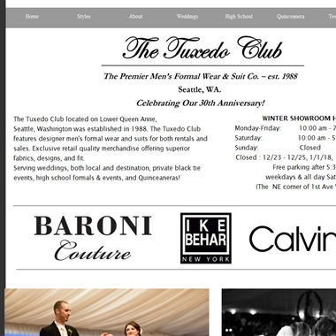 The Tuxedo Club wedding vendor preview
