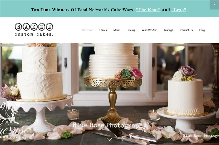 Baked Custom Cakes wedding vendor photo