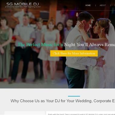 SG Mobile DJ Service/ Jeff Onorato wedding vendor preview