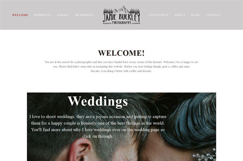 Jamie Buckley Photography wedding vendor photo