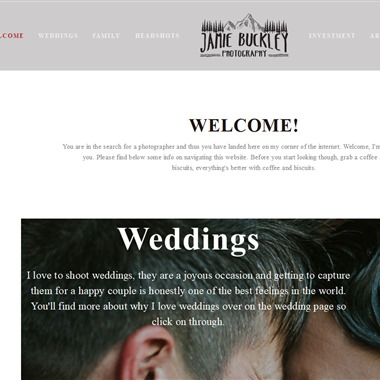 Jamie Buckley Photography wedding vendor preview