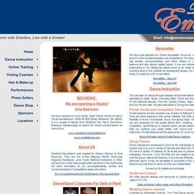 Emotions Dance Sport wedding vendor preview
