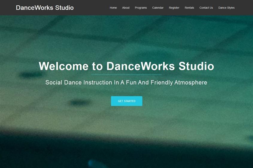 DanceWorks Studio wedding vendor photo