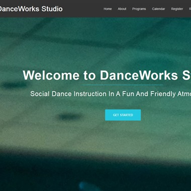 DanceWorks Studio wedding vendor preview