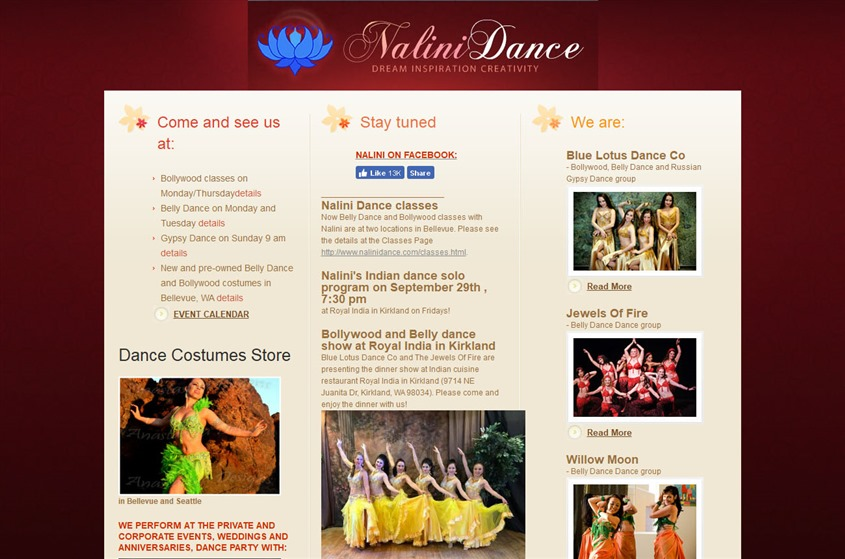 Nalini Dance wedding vendor photo