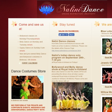 Nalini Dance wedding vendor preview