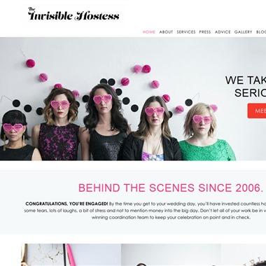 The Invisible Hostess wedding vendor preview