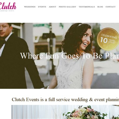 Clutch Events wedding vendor preview