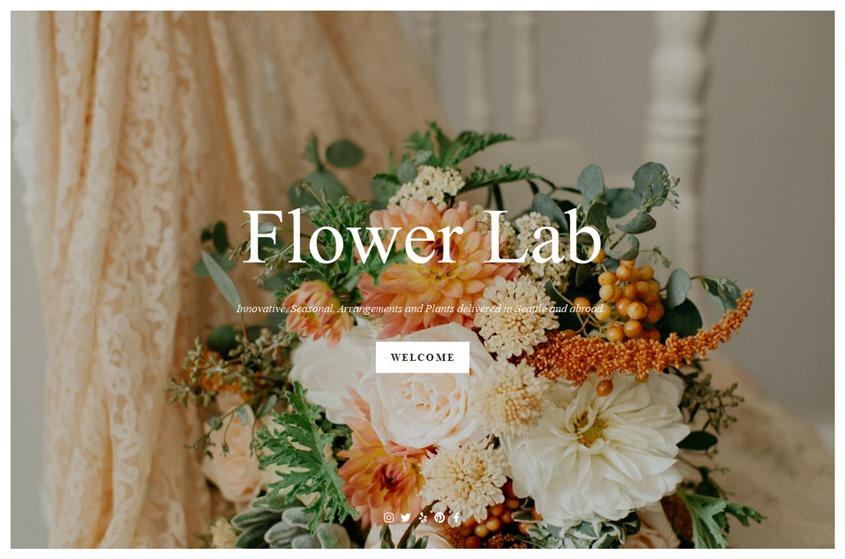 Flower Lab wedding vendor photo