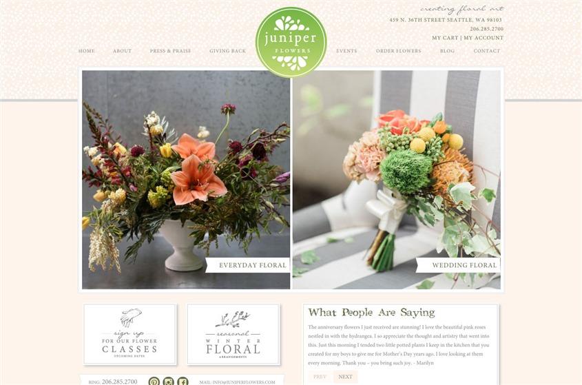 Juniper Flowers wedding vendor photo