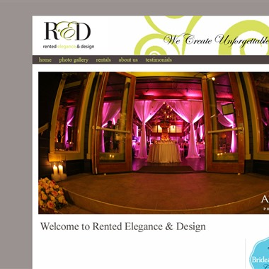 Rented Elegance & Design wedding vendor preview