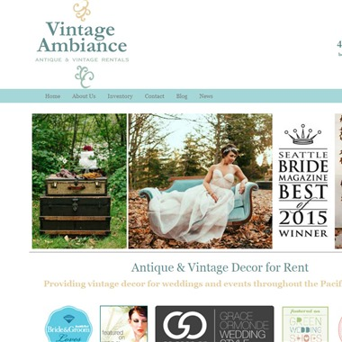 Vintage Ambiance wedding vendor preview
