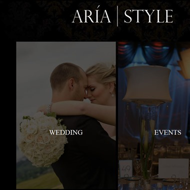 Aria Style wedding vendor preview