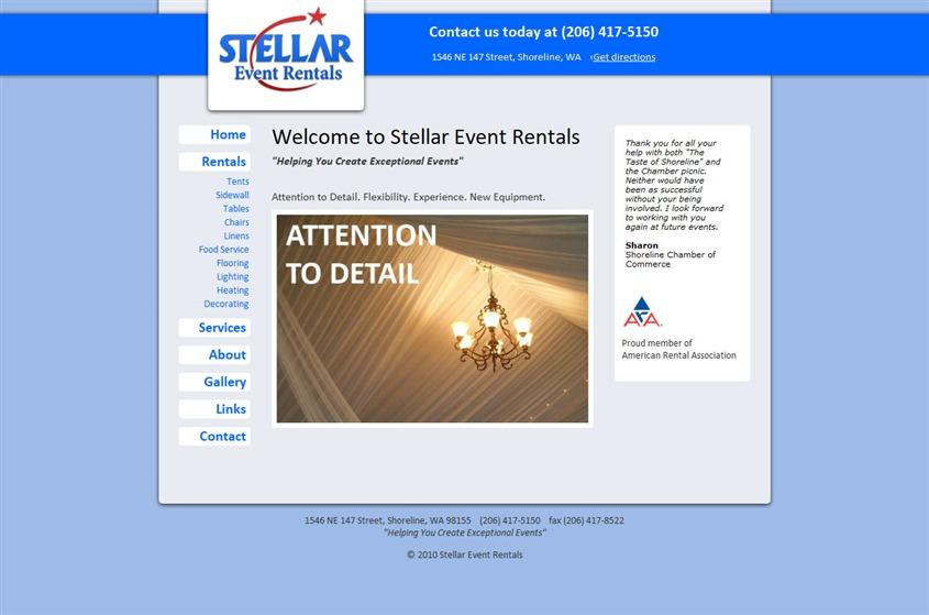 Stellar Event Rentals wedding vendor photo