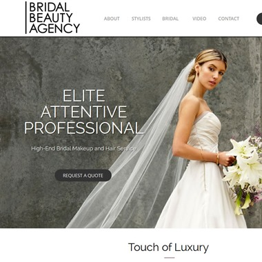 Bridal Beauty Agency wedding vendor preview