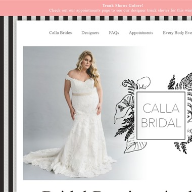 Calla Bridal wedding vendor preview