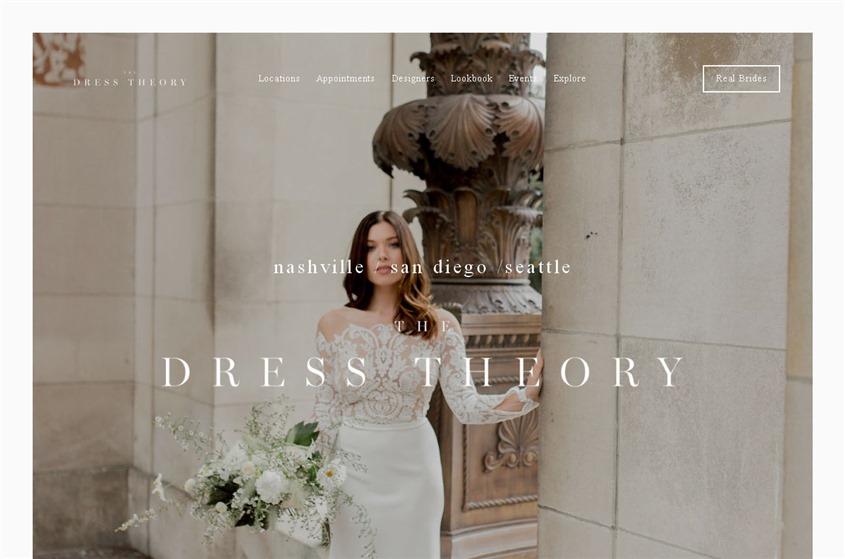 The Dress Theory wedding vendor photo