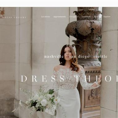 The Dress Theory wedding vendor preview