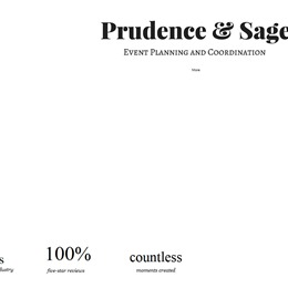 Prudence & Sage Events photo