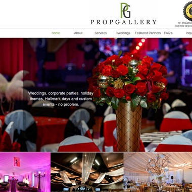 Prop Gallery Events wedding vendor preview