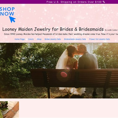 Looney Maiden Jewelry wedding vendor preview