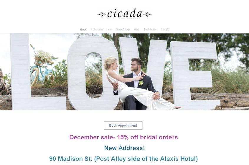 Cicada wedding vendor photo